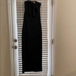 FOREVER 21 long black formal dress